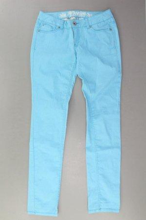 Tom Tailor Skinny Jeans Größe W30/L32 türkis aus Baumwolle