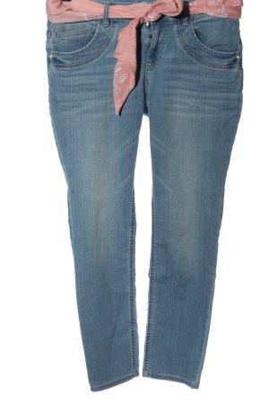 Tom Tailor Jeans slim fit blu-rosa stile casual