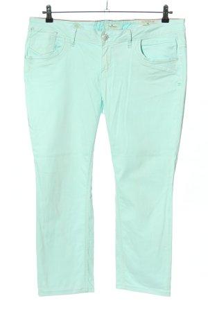 Tom Tailor Slim Jeans türkis Casual-Look