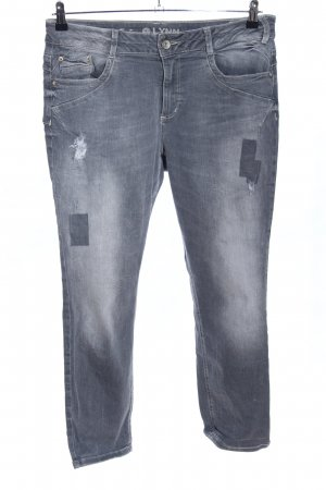 Tom Tailor Slim Jeans hellgrau Casual-Look