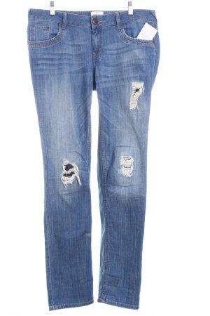 """Tom Tailor Slim Jeans """"Carrie"""" kornblumenblau"""
