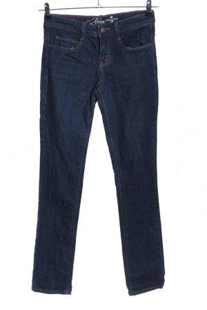 Tom Tailor Slim Jeans blau Casual-Look