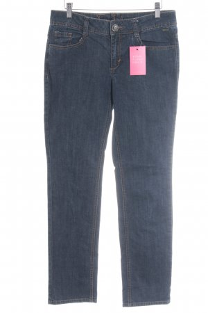 Tom Tailor Slim jeans donkerblauw Jeans-look