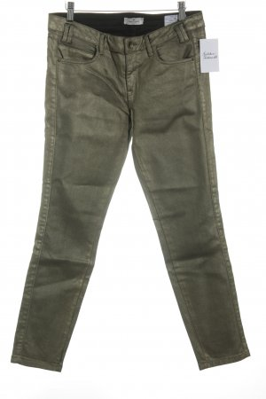 Tom Tailor Slim Jeans goldfarben Casual-Look