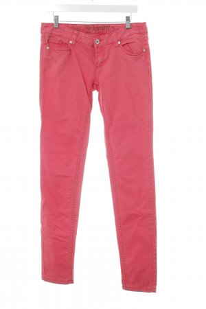 Tom Tailor Slim Jeans bright red casual look