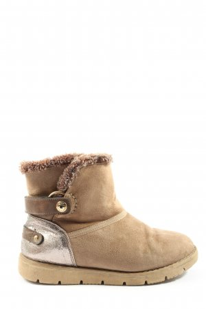 Tom Tailor Slouch Booties brown casual look