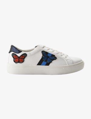 TOM TAILOR Sneaker mit süßer Schmetterlingsstickerei