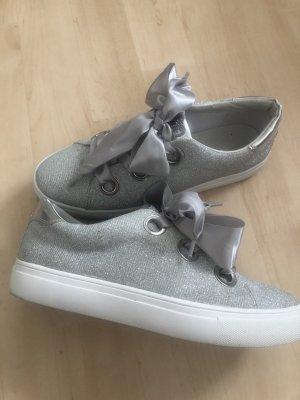 Tom Tailor Sneaker Silber Glitzer Gr.42