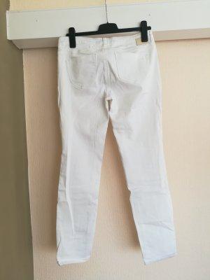 Tom Tailor Jeansy z prostymi nogawkami biały
