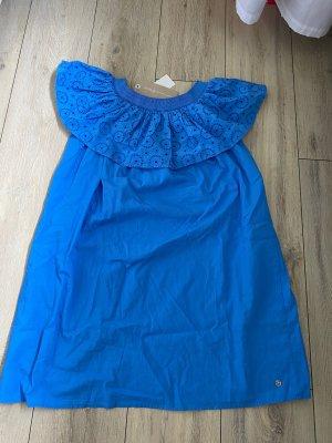 Tom Tailor Sukienka tunika niebieski neonowy
