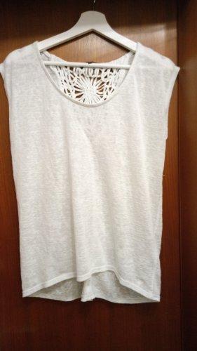 Tom Tailor Sommershirt in Weiß Größe L