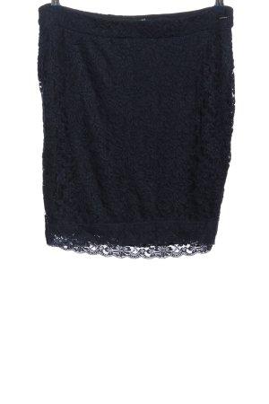 Tom Tailor Koronkowa spódnica niebieski W stylu casual