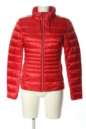 Tom Tailor Steppjacke rot Steppmuster Casual-Look