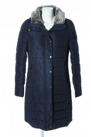 Tom Tailor Quilted Coat blue quilting pattern casual look