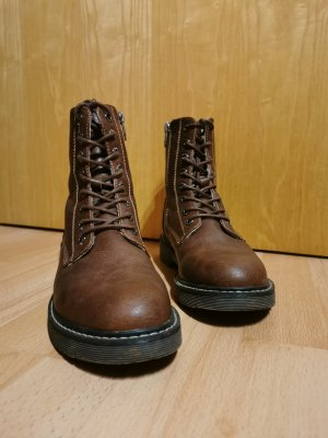 Tom Tailor Short Boots brown