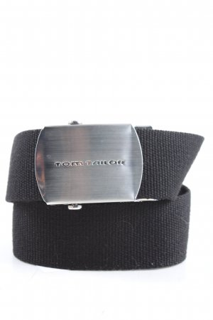 Tom Tailor Fabric Belt black casual look