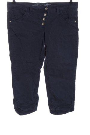 Tom Tailor Spodnie materiałowe niebieski W stylu casual