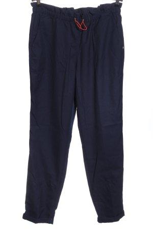 Tom Tailor Stoffhose blau Casual-Look
