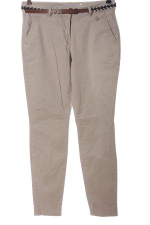Tom Tailor Pantalone jersey crema elegante