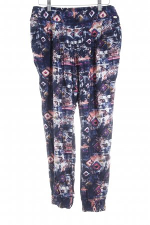Tom Tailor Stoffhose psychedelic-Muster Casual-Look