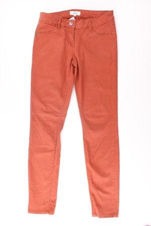 Tom Tailor Straight Jeans Größe 38 orange aus Baumwolle