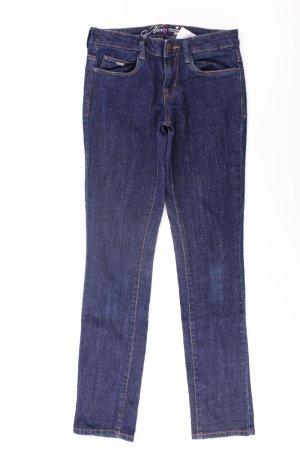 Tom Tailor Straight Jeans Größe W26 blau aus Baumwolle