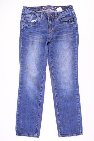 Tom Tailor Straight Jeans Größe W28/L30 blau aus Baumwolle