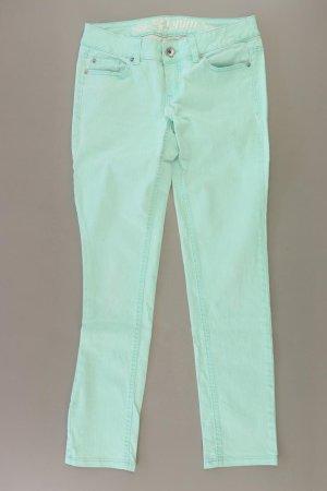 Tom Tailor Jeansy z prostymi nogawkami turkusowy Bawełna