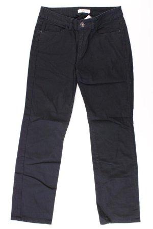 Tom Tailor Jeans a gamba dritta nero Cotone
