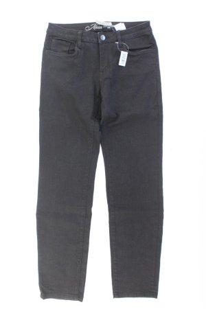 Tom Tailor Straight Jeans Größe W31 schwarz aus Lyocell