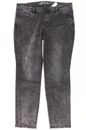 Tom Tailor Straight Jeans Größe W34 grau aus Baumwolle