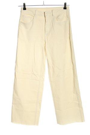 Tom Tailor Jeansy z prostymi nogawkami kremowy W stylu casual