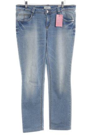 Tom Tailor Straight-Leg Jeans blau Jeans-Optik
