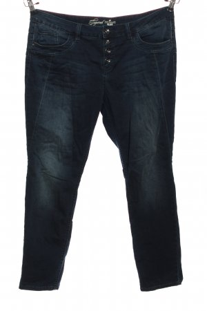Tom Tailor Straight-Leg Jeans blau Casual-Look