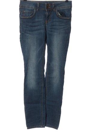 Tom Tailor Jeansy z prostymi nogawkami niebieski W stylu casual