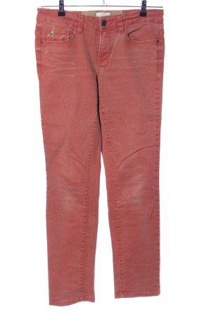 Tom Tailor Jeansy z prostymi nogawkami czerwony W stylu casual