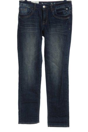 Tom Tailor Straight-Leg Jeans blau Casual-Look