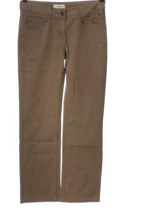 Tom Tailor Straight-Leg Jeans braun Casual-Look