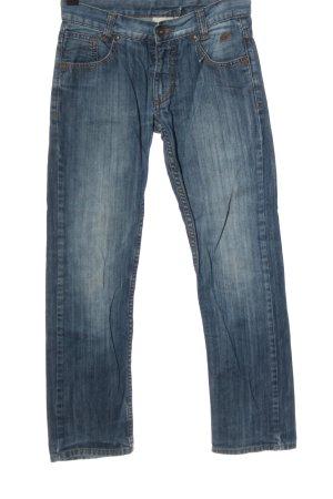 Tom Tailor Straight-Leg Jeans blau Street-Fashion-Look