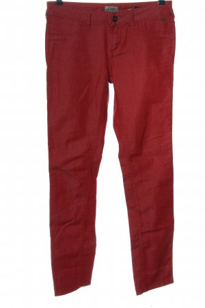 Tom Tailor Skinny Jeans rot Casual-Look