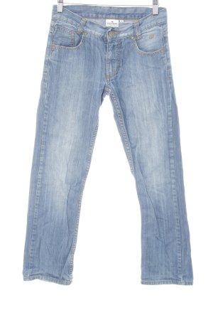 Tom Tailor Jeansy z prostymi nogawkami niebieski