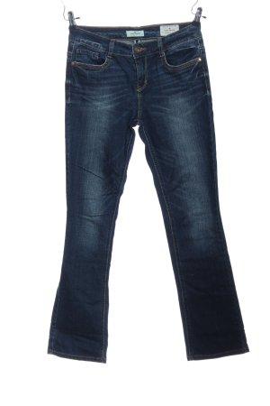 Tom Tailor Jeans coupe-droite bleu style décontracté