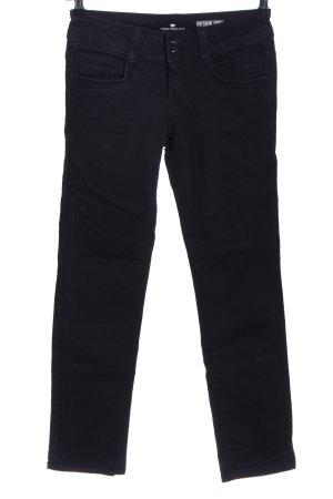 Tom Tailor Straight-Leg Jeans schwarz Casual-Look
