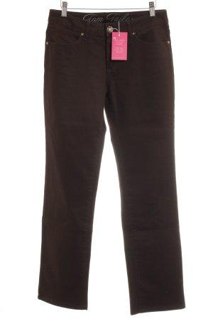 Tom Tailor Jeansy z prostymi nogawkami czarny W stylu casual
