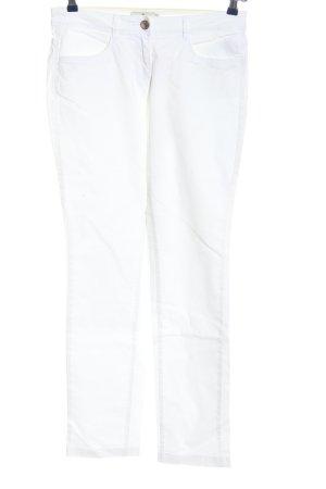 Tom Tailor Jeansy z prostymi nogawkami biały W stylu casual