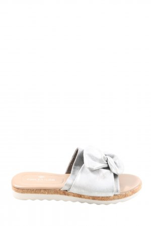 Tom Tailor Beach Sandals light grey casual look