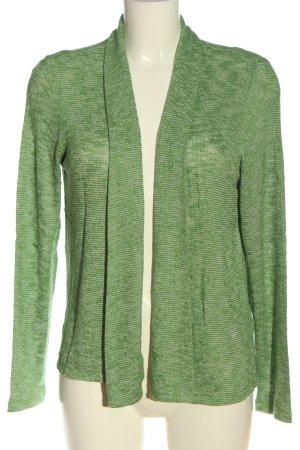Tom Tailor Cardigan in maglia verde stile casual