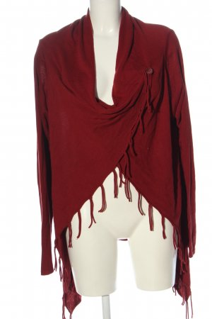 Tom Tailor Strick Cardigan rot Casual-Look