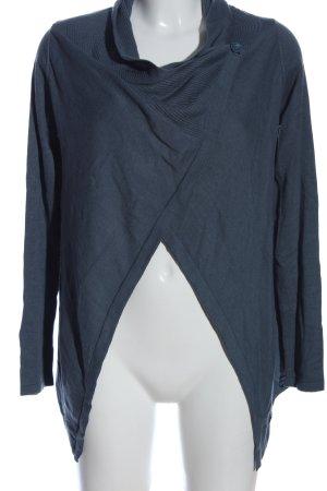 Tom Tailor Strick Cardigan blau Casual-Look