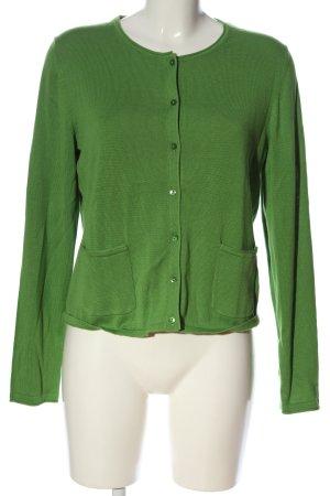 Tom Tailor Strick Cardigan grün Casual-Look